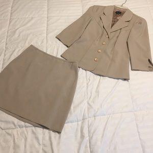Matching Skirt Suit Set